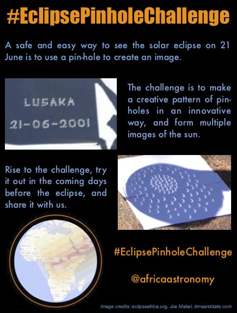 Eclipse Pinhole Challenge